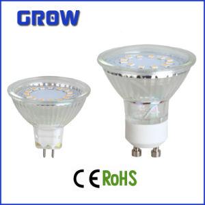 3W MR16/GU10 Glass LED Spotlight (GR628) pictures & photos