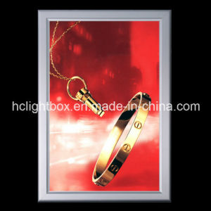 LED Slim Light Box with Snap Frame for Advertising pictures & photos
