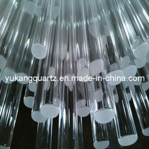 Photovoltaic Used Quartz Glass Solid Rod (YKR-001) pictures & photos