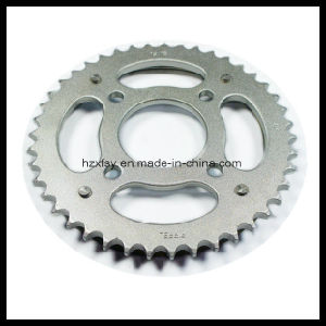45# Steel Q235 Steel Motorcycle Front and Rear Sprocket Motorcycle Sprockets pictures & photos