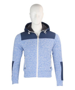 2016 Stylish Zipper up Hooded Outdoor Jacket Winter for Men pictures & photos