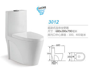 Super Swirl One-Piece Toilet 3012