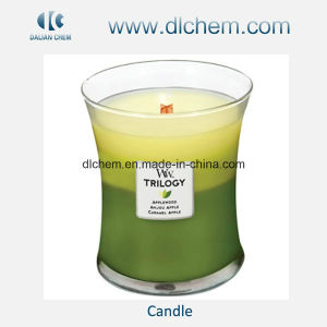 Christmas/Birthday Glass Jelly Candles China Supplier with Best Price pictures & photos