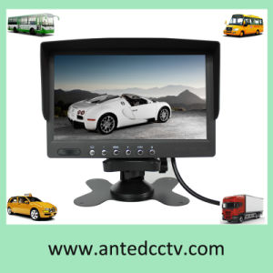 7 Inch Car LCD Monitor for Vehicle Backup Rearview Camera System pictures & photos