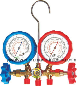 High Quality Brass Manifold Gauge Set pictures & photos