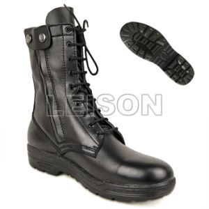 Military Tactical Boots of Full Grain Leather pictures & photos