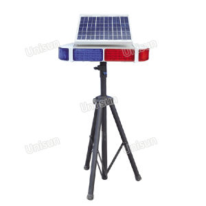 Solar 96PCS LED Warning Light, Traffic Signal Light, Flash Safety Light with Tripod pictures & photos