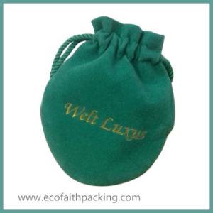 Fashionable Jewelry Bag Velvet Bag for Bracelet Earrings Accessories