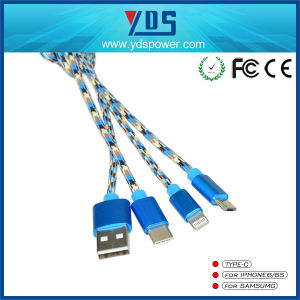 Promotional Portable USB Mobile Phone Charger Cable pictures & photos