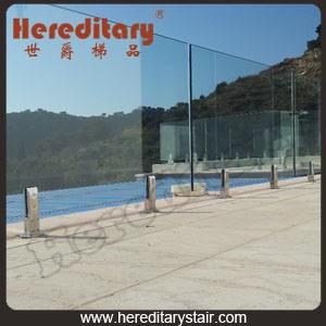 Frameless Glass Fence for Swimming Pool (SJ-3204)