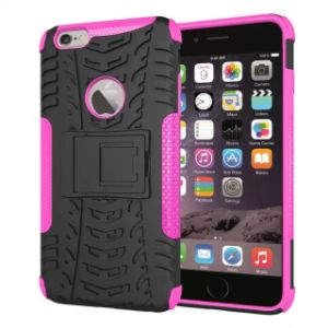 Newest Hybird Armor Mobile Cell Phone Plastic PC Silicone Cover Case for iPhone 6 pictures & photos
