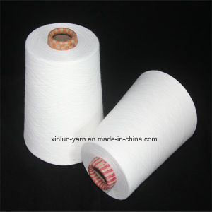 Raw White Yarn Viscose Yarn Rayon Yarn for Knitting pictures & photos