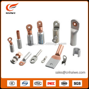 DIN Four Holes Compression Crimping Copper Connector Tubular Cable Lug pictures & photos