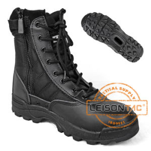 Military Tactical Combat Boots of Cowhide Leather ISO Standard pictures & photos