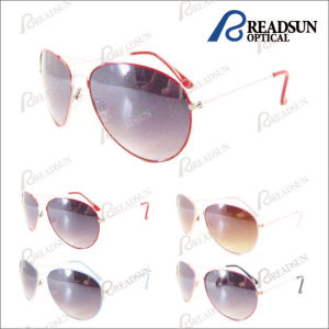 Promotional Metal Sunglasses for Man and Woman with UV400 (SM603014) pictures & photos