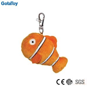 Custom Plush Fish Keychain Stuffed Soft Toy Key Ring pictures & photos