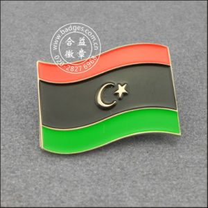 Libya Flag Lapel Pin, Metal Badge (GZHY-LP-005) pictures & photos
