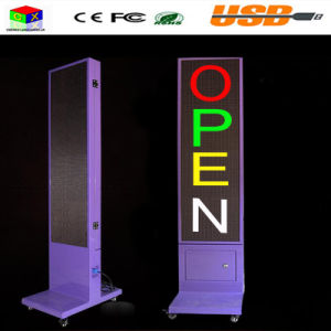 Waterproof Double-Sided LED Display Signs Advertising Display Vertical Scrolling Vertical Landing P10 Full Color Outdoor Display pictures & photos