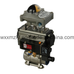 Pneumatic Ball Valve for Water Control pictures & photos