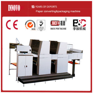 Double-Side Two Color Sheet-Fed Offset Press Printing Machine pictures & photos
