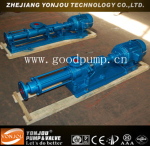 G Series Single Screw Pump for High Viscosity Liquid pictures & photos