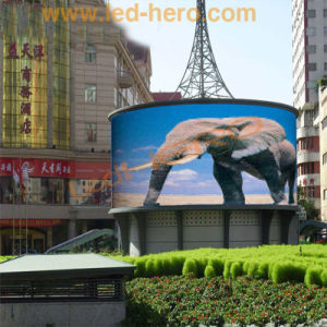 Full Color LED Net Screen with CE Certificate pictures & photos