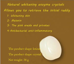 Natural Active Enzyme Crystal Skin Whitening Soap Body Skin Whitening Soap for Private Parts Fade Areola pictures & photos