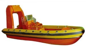 Inflatable Rigid Rescue Boat