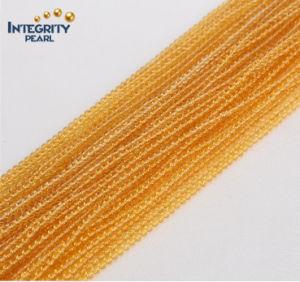 Gmenstone Loose Crystal Strands Wholesale Cute Size 2mm 3mm Natural Yellow Quartz Gemstone