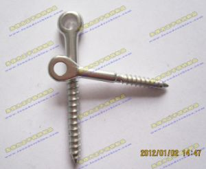 Stainless Steel Eye Wooden Threaded Screw pictures & photos