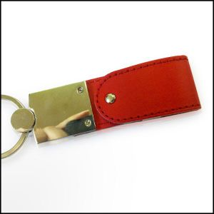 Leather USB Flash Drive USB Stick (L-15) pictures & photos