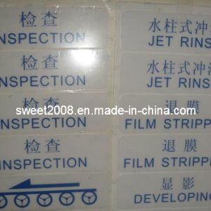 Clear PVC Sticker pictures & photos