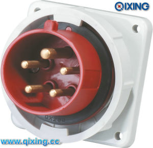 IP67 International Standard Waterproof Panel Plug (QX829) pictures & photos