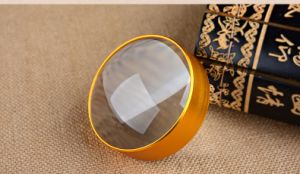 Paperweight Magnifying Glass 6X 75mm pictures & photos