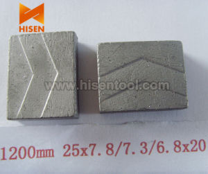 Diamond Segments for Multi Blades (cutting granite block) pictures & photos