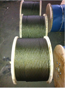 Steel Wire Rope for Elevator /6X19/ Sisal Fibre Core pictures & photos