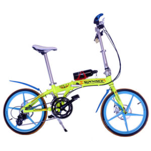 "20"" 8sp Disc Brake Folding Bike"