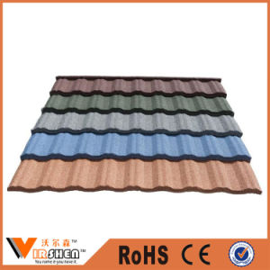 Classic Building Material Color Stone Coated Metal Roof Tile pictures & photos