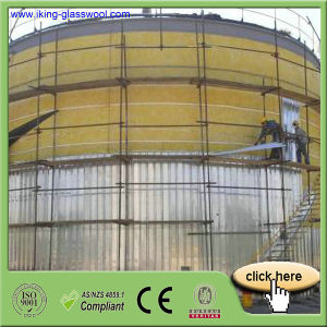 Noncombustible Insulation Glass Wool Blanket pictures & photos