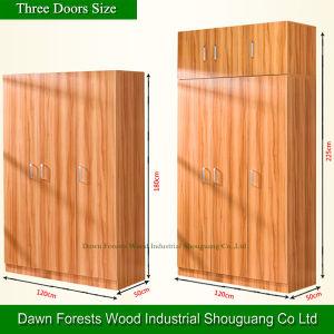Five Doors Panel Wardrobe Armoire pictures & photos