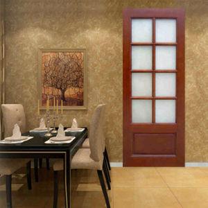 Ritz Luxury Design for Bathroom Wooden Interior Door pictures & photos