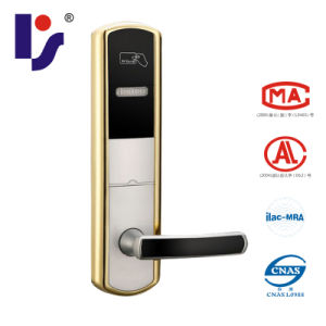 RF/Mifare 1 Card Smart Hotel Lock (RX918E-JBB)
