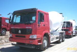 Mixer Truck for Concrete Brand Sinotruk HOWO pictures & photos