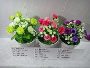 High Quality of Artificial Flowers Lotus Rose Buds of Gu-Jy912204402 pictures & photos
