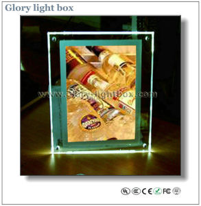 CE Approved A3 LED Crystal Lighting Box (SJ002) pictures & photos