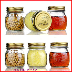Glass Jam Jar/Glass Jar for Honey Pickle /Glass Bottle for Soy Sauce pictures & photos