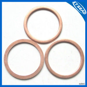 Copper Washer, Flat Gasket with Professional Production. pictures & photos
