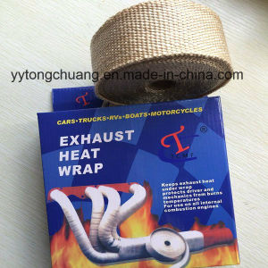 Fiberglass Exhaust Header Thermo Wrap Tape pictures & photos