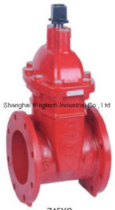 UL/FM Approved Gate Valve Without Post Flange pictures & photos