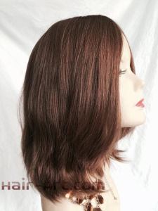 """Full Lace 100% Virgin European Hair Made Sheitels Kosher Wigs-12"""" pictures & photos"""
